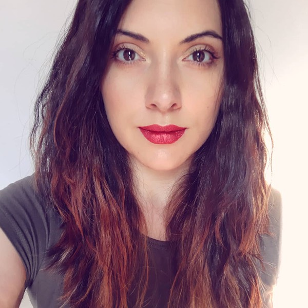 Tiger Red - EVER 64 - rossetto liquido we make-up - @auryn_horne89