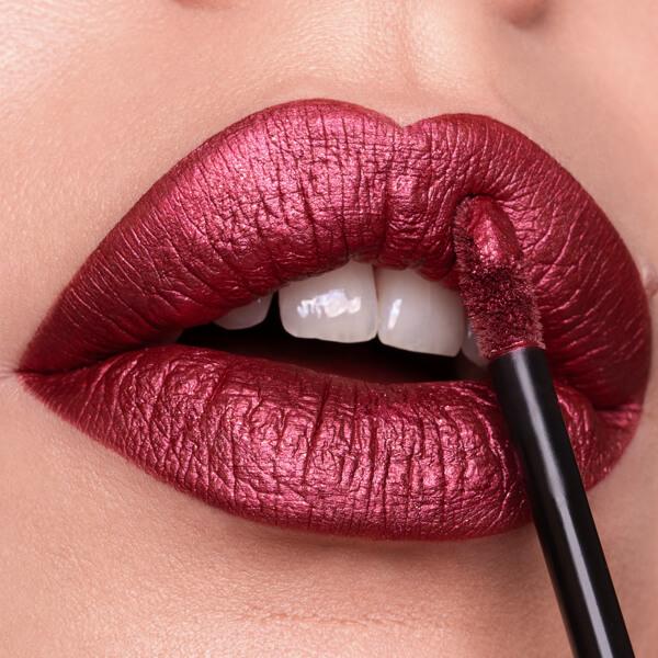 Tharsis Grape - EVER 65 - liquid lipstick we make-up - Fair skin tone