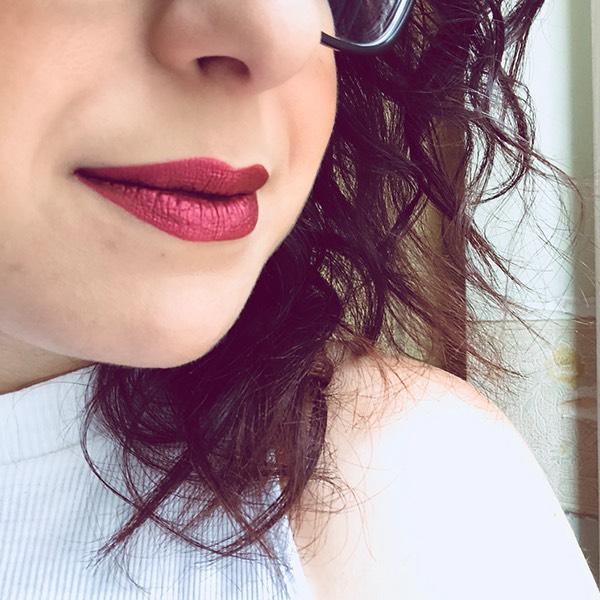 Tharsis Grape - EVER 65 - liquid lipstick we make-up - @mushroomsimu