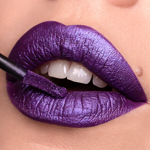 Loki Purple - EVER 66 - liquid lipstick we make-up - Fair skin tone