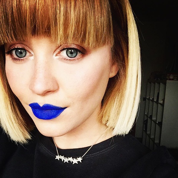 Yali Blue - EVER 80 - rossetto liquido we make-up - @redclementine