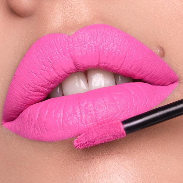 Vinicunca Pink - EVER 85 - liquid lipstick we make-up - Fair skin tone