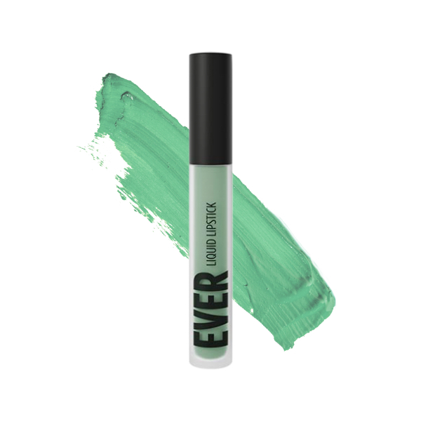 Vilcanota Mint - EVER 87 - liquid lipstick we make-up - Swatch