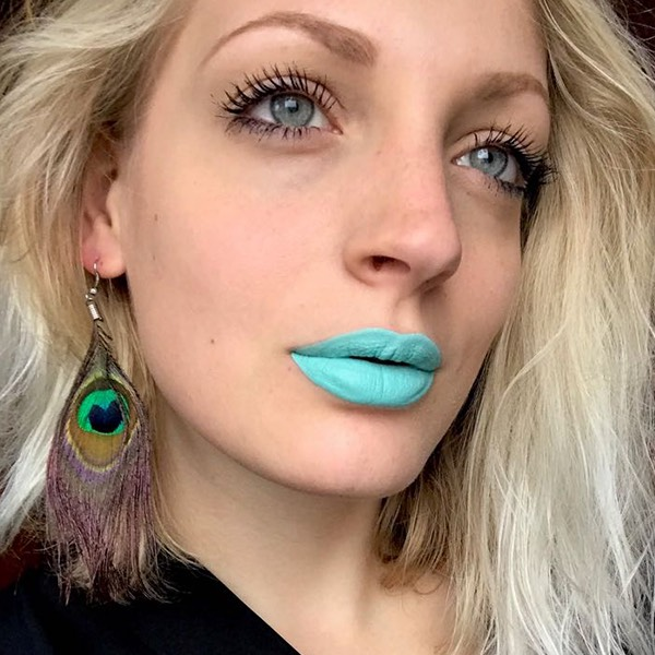 Vilcanota Mint - EVER 87 - liquid lipstick we make-up - @beaborgonovo_mua