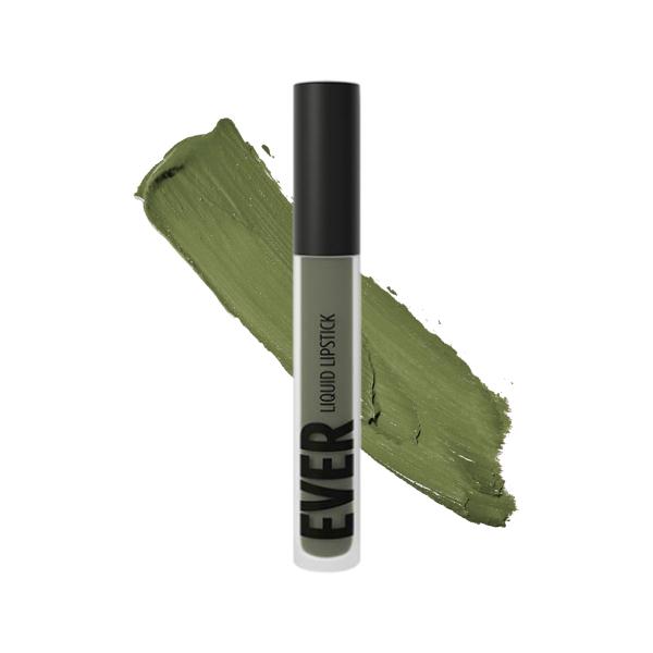 Sangay Seaweed - EVER 91 - liquid lipstick we make-up - Swatch