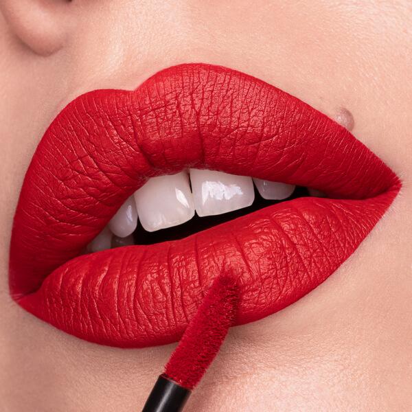 Borghese - EVER 97 - rossetto liquido we make-up - Swatch chiaro