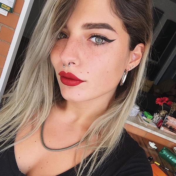 Borghese - EVER 97 - rossetto liquido we make-up - @faithrauhl_